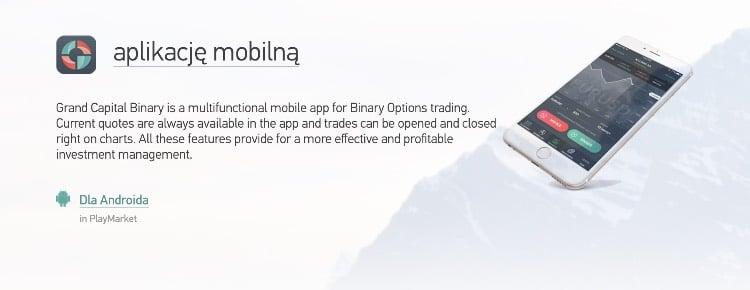 aplikacja mobilna w Grand Capital