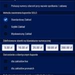 aplikacja STS - ustawienia