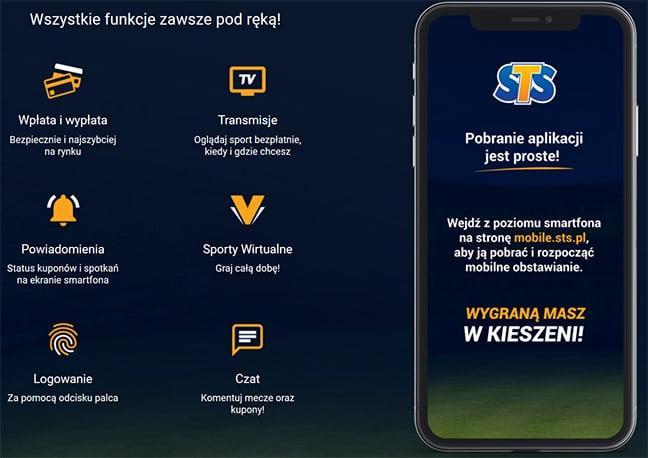 STS aplikacja