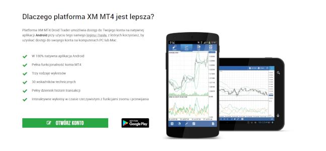XM broker mobile
