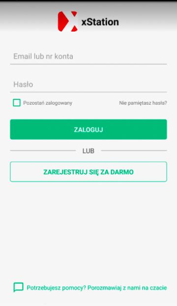 XTB mobile