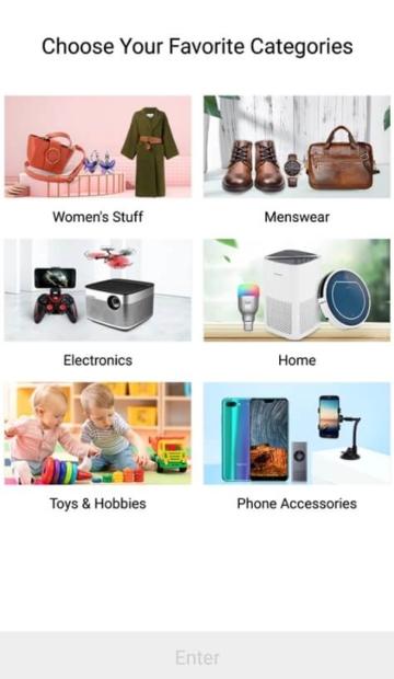 Gearbest kategorie mobile