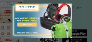 tomtop code