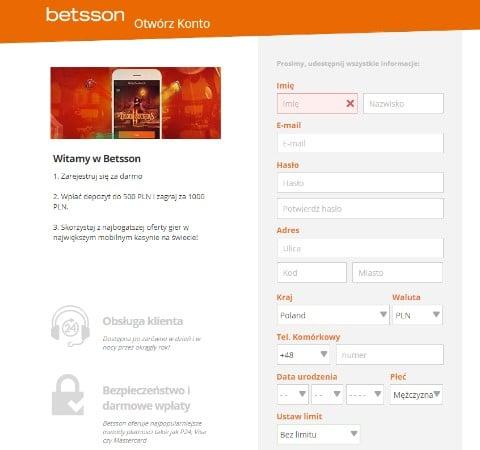Kasyno_Betsson_rejestracja