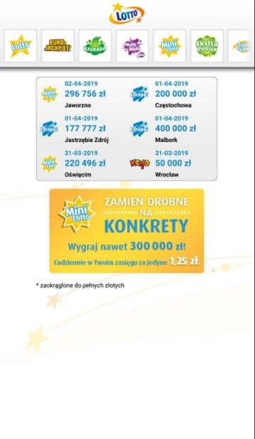 Lotto.pl mobile