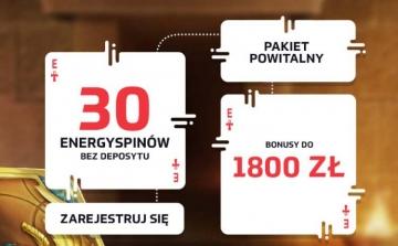 Energy Casino Bonus Powitalny 1