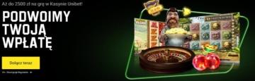 unibet casino bonus powitalny