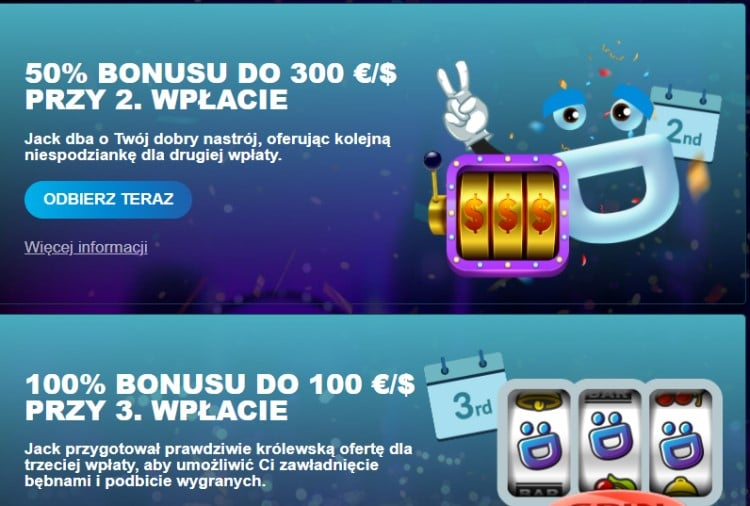 Bonus w Wild Jackpots