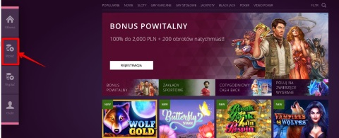malina Casino depozyt