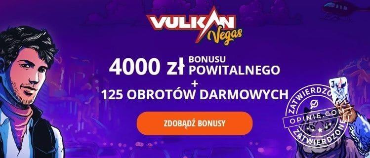 Bonus w Vulkan Vegas