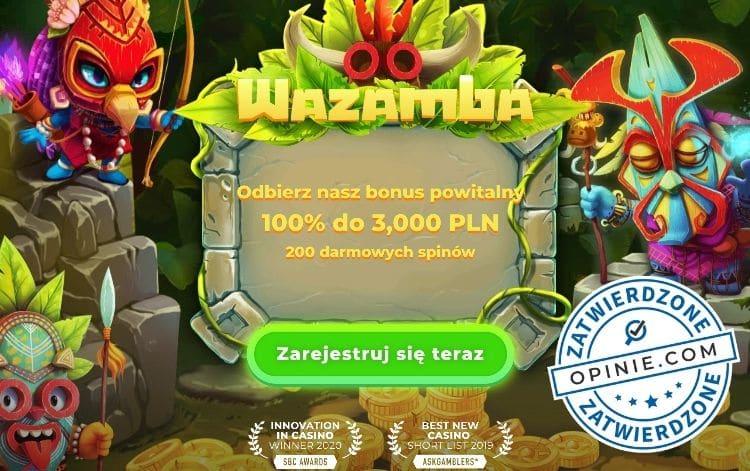 Bonus w Wazamba