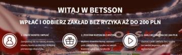 Betsson Bonus Powitalny