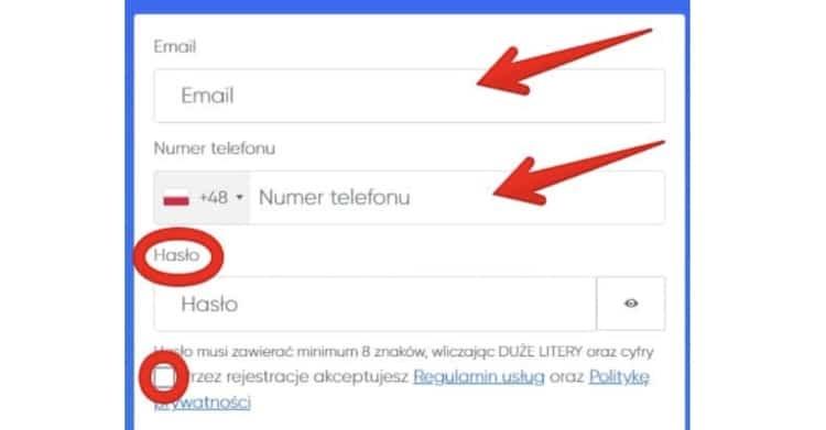 BitClude rejestracja