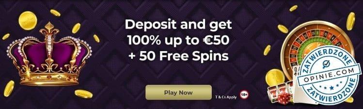 Bonus w RoyalBet
