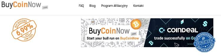 Program afiliacyjny w BuyCoinNow