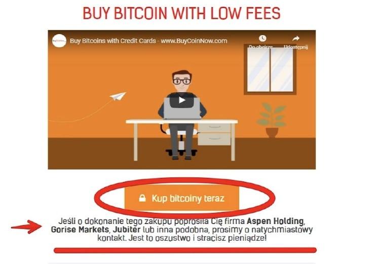 kupno bitcoinow na BuyCoinNow krok po kroku