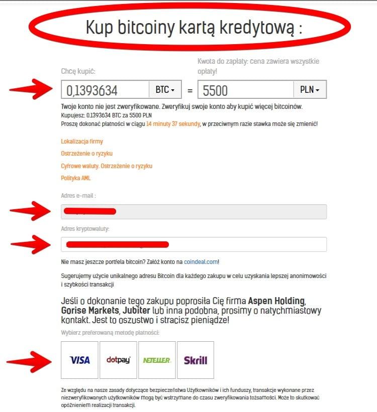 podaj prywatny adres kryptowaluty