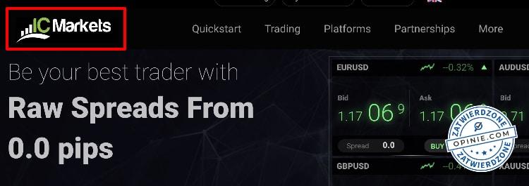 IC Markets promocja powitalna