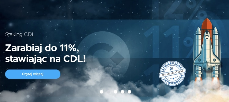Promocja CoinDeal Staking CDL