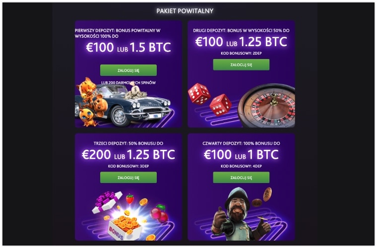 7bit Casino bonus powitalny
