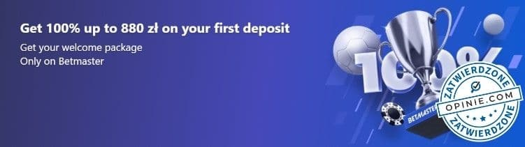 Bonus w Betmaster Casino