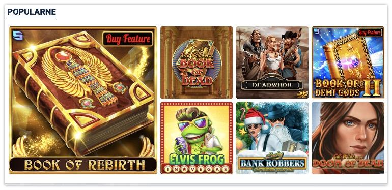 gry w 20Bet Casino
