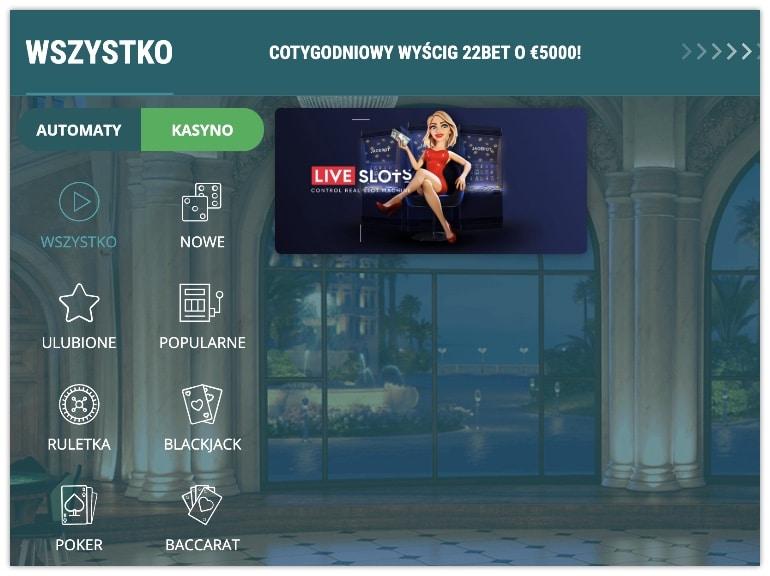 sloty-live-bet22
